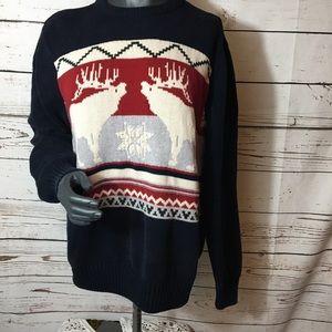 Vintage Dockers Winter/Xmas/deer Sweater